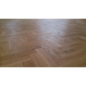 P108 Mat Oil Finish Tumbled Parquet Flooring, size 16x70x280mm