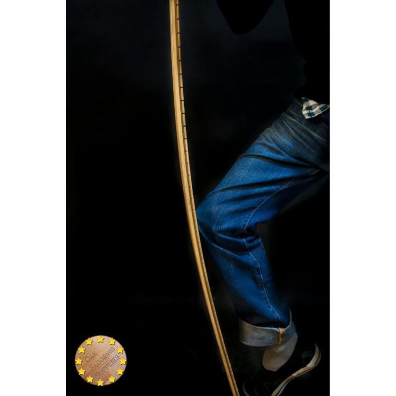 Hinton Ebony Oiled Rustic Oak 21x120x610 2610mm