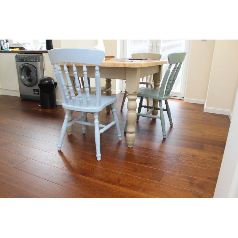 Parquet Flooring Bristol: Kelston Teak Engineered Oak 11x180x2200mm