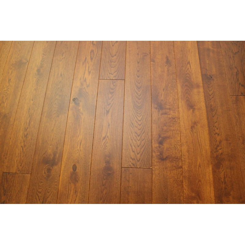 Kelston Teak Engineered Oak 11x180x2200mm Oak Flooring