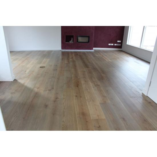 Parquet Flooring Bristol: Kelston Weathered Engineered Oak 15x230x2200mm