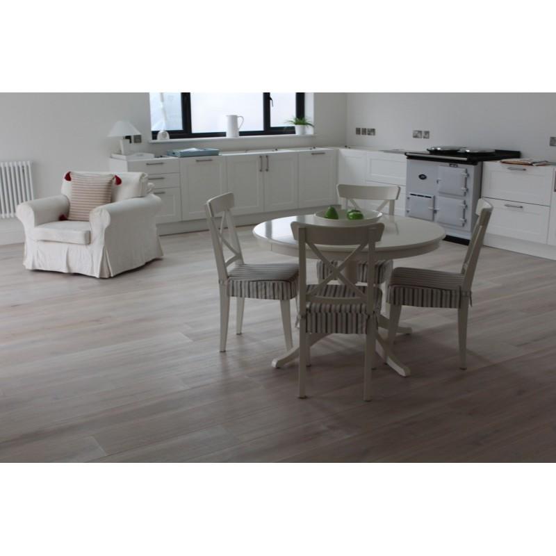 Parquet Flooring Bristol: E139 Kelston Frozen Engineered Oak 15x160x2200mm