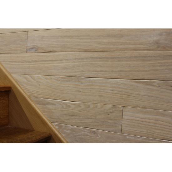 CL004 Wall Timber Cladding White Dyrham Oak 11x100x1000x2200mm