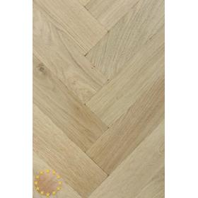 P102/16 Tumbled Rustic Oak Parquet Flooring Blocks Unfinishead 16x70x280mm