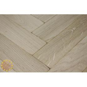 P103/16 Tumbled Prime Oak Parquet Flooring Blocks Unfinishead 16x70x280mm