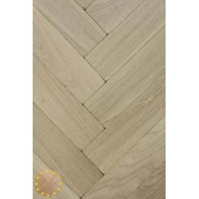 P103/22 Tumbled Prime Oak Parquet Flooring Blocks Unfinishead 22x70x280mm