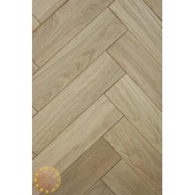 P104/16 Rustic Microbevel Oak Parquet Flooring Blocks Unfinishead 16x70x280mm