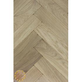 Tumbled Rustic Oak Parquet Flooring Blocks Natro Finish, size 16x70x280mm