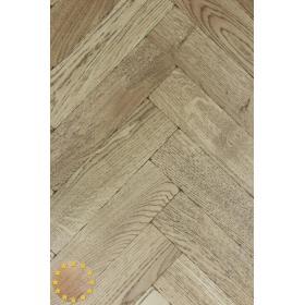 Tumbled Rosland Oak Parquet Flooring Blocks Mat Oil Finish, size 16x70x280mm