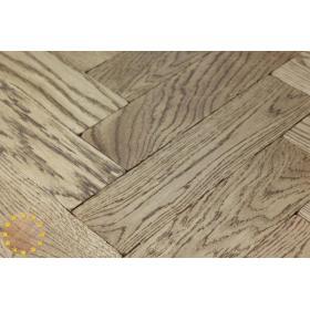 P119/22 Walnut Tumbled Parquet Flooring, size 22x70x280mm