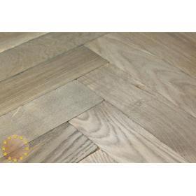 P122/22 Tumbled Parquet Flooring, Weathered Oak size 22x70x280mm