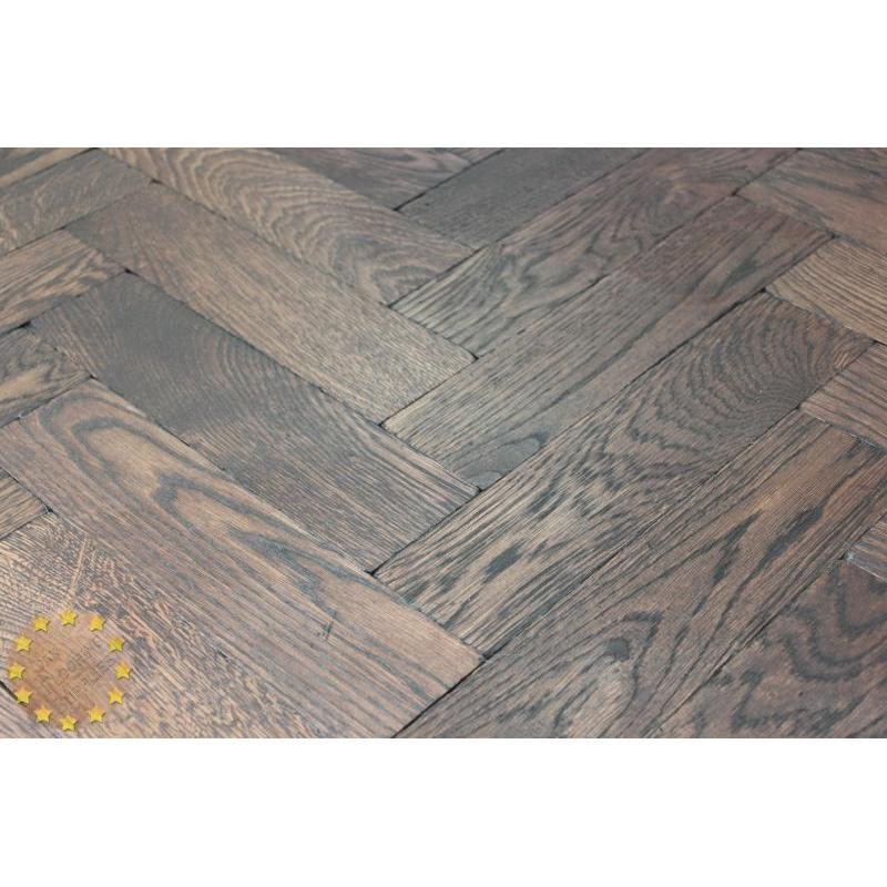 Parquet Flooring Bristol: P136/16 Wenge Solid Parquet Flooring, Size 16x70x280mm