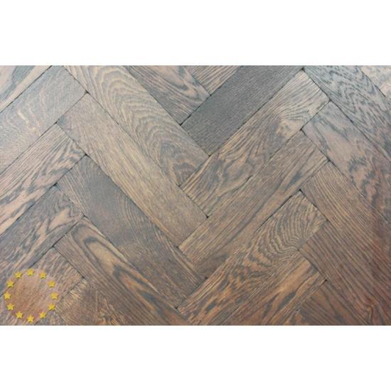 Parquet Flooring Bristol: Sample Of P136/22 Wenge Solid Parquet Flooring, Size