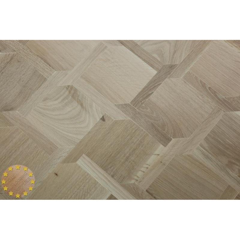 Mw01 Mansion Weave Unfinish Square Edge Oak Flooring