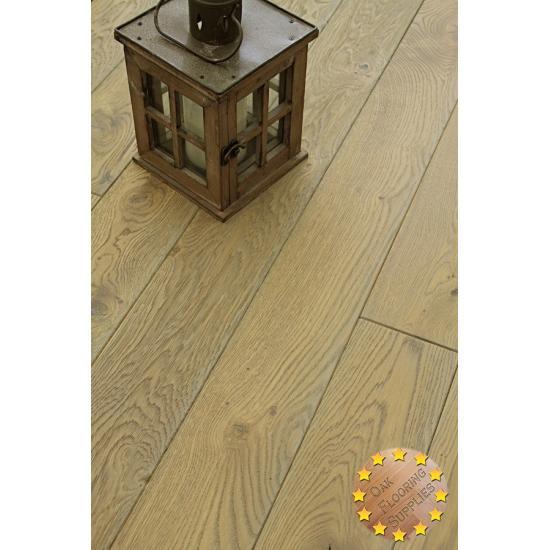 Rustic Grey Oak Flooring Oak Oiled Solid Wood Flooring