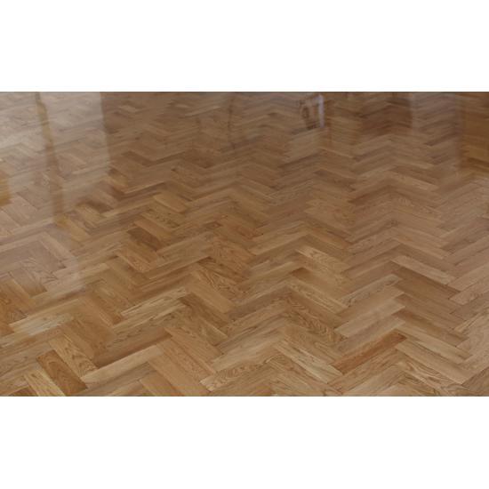 Parquet Flooring Bristol: Tumbled Rustic Oak Parquet Flooring Blocks Satin Oil