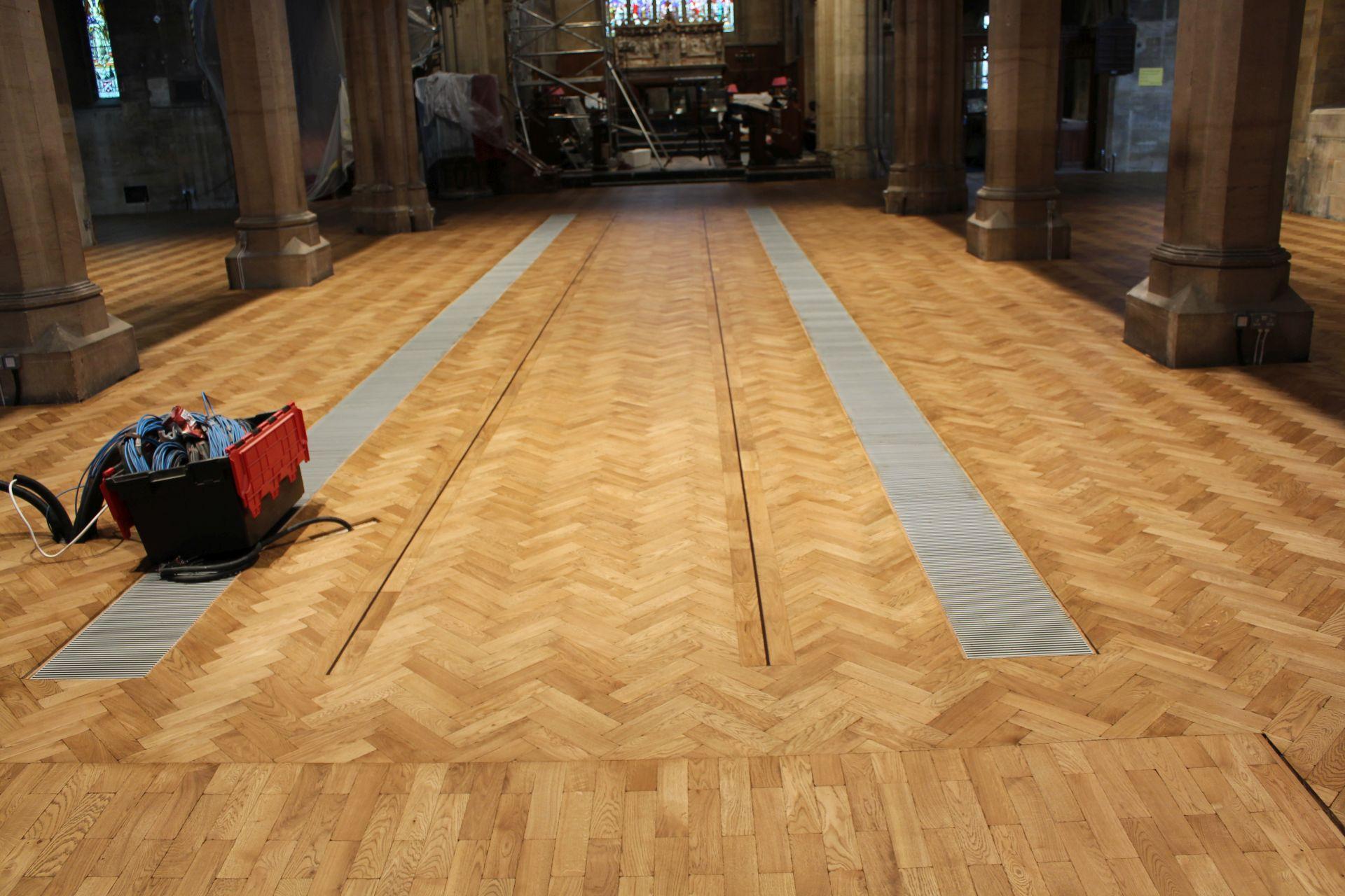 Christ Church floor renovation service