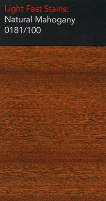 0181/100 Natural Mahogany